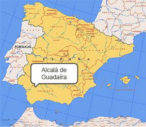Mapa de Alcalá de Guadaíra