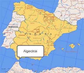 Mapa de Algeciras