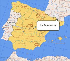 Mapa de La Massana