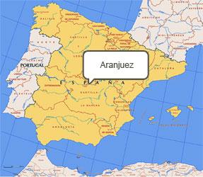 Mapa de Aranjuez