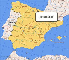 Mapa de Baracaldo