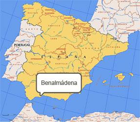 Mapa de Benalmádena