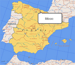 Mapa de Bilbao