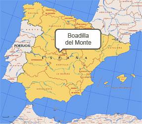 Mapa de Boadilla del Monte