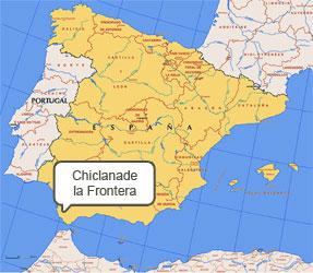 Mapa de Chiclana de la Frontera