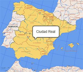 Mapa de Ciudad Real