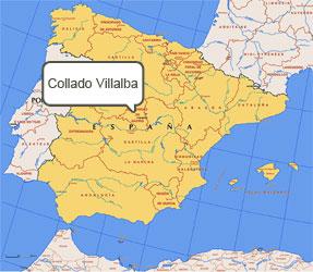 Mapa de Collado Villalba