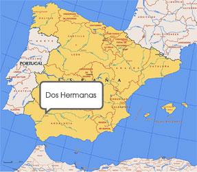 Mapa de Dos Hermanas