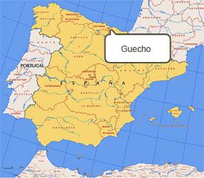 Mapa de Guecho