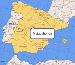 Mapa de Majadahonda