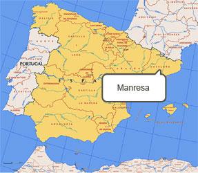 Mapa de Manresa