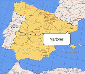 Mapa de Martorell