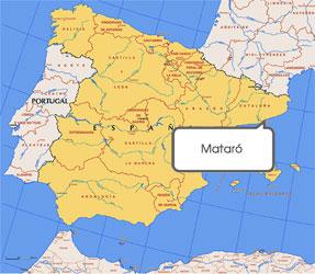 Mapa de Mataró