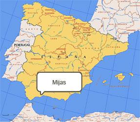 Mapa de Mijas
