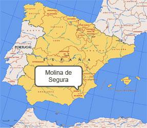 Mapa de Molina de Segura