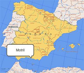 Mapa de Motril