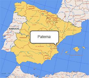 Mapa de Paterna