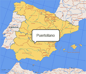 Mapa de Puertollano