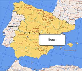 Mapa de Reus
