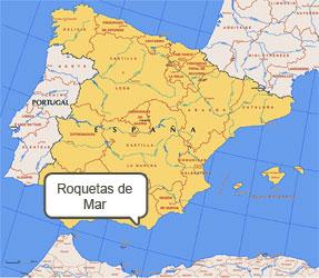 Mapa de Roquetas de Mar