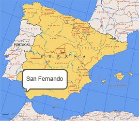 Mapa de San Fernando