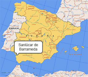 Mapa de Sanlúcar de Barrameda
