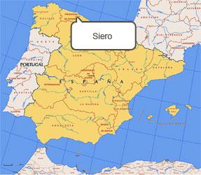 Mapa de Siero
