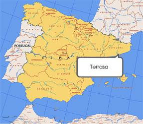 Mapa de Tarrasa