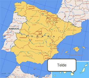 Mapa de Telde