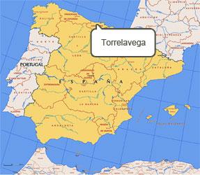 Mapa de Torrelavega