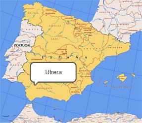 Mapa de Utrera