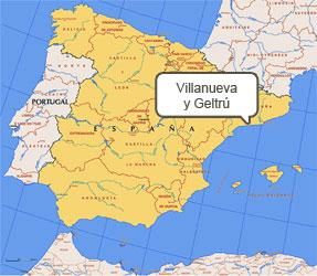 Mapa de Villanueva y Geltrú