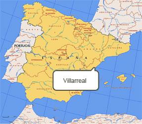Mapa de Villarreal